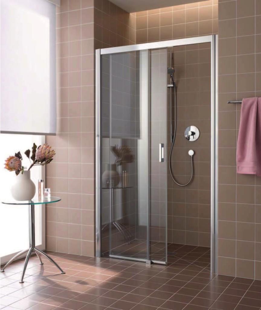 Вид ограждения в душ