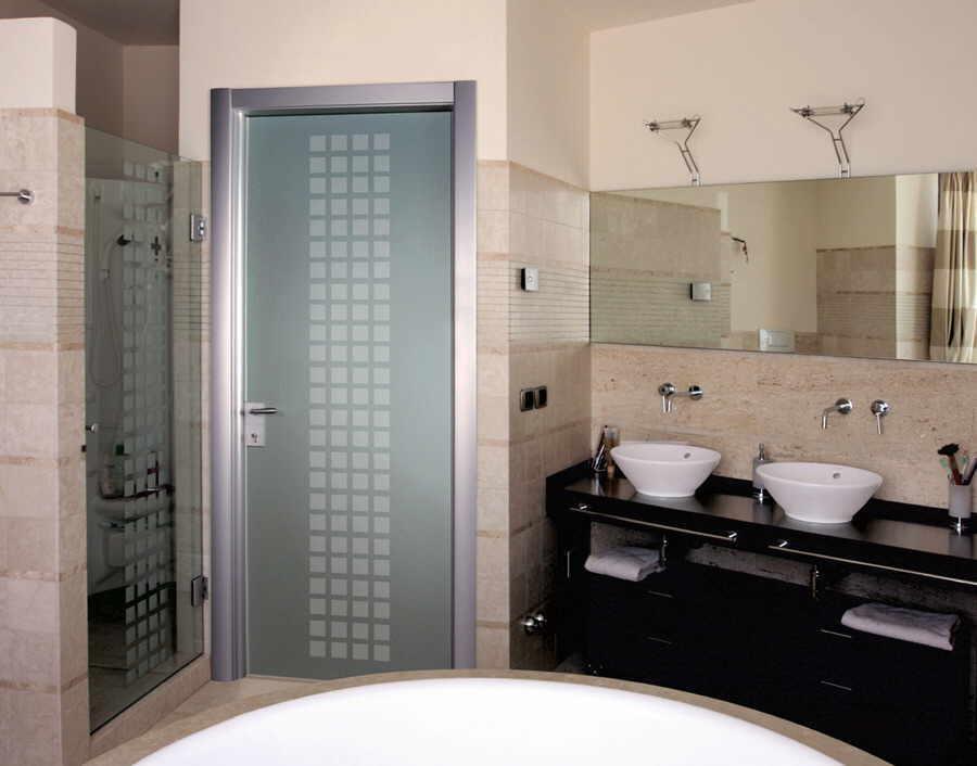 межкомнатные двери в ванную и туалет фото