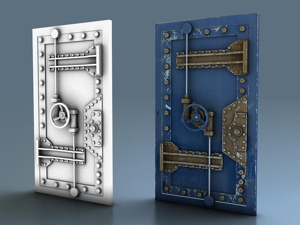 изготовление железных броне дверей