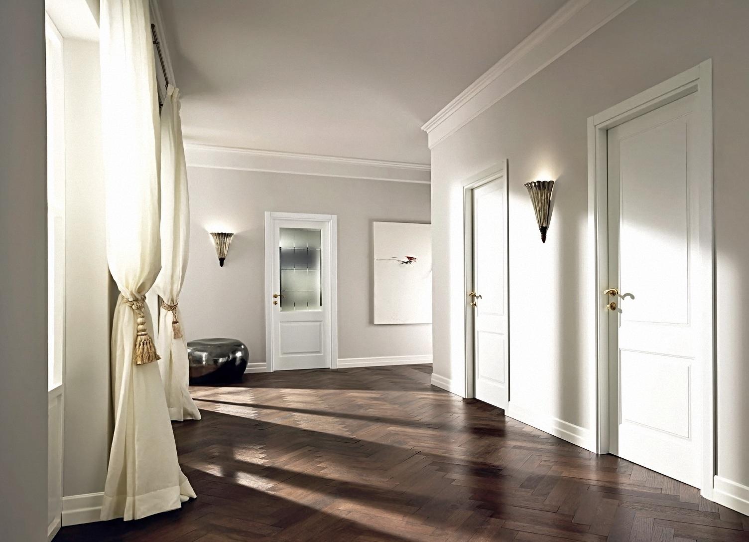 Двери белые в интерьере