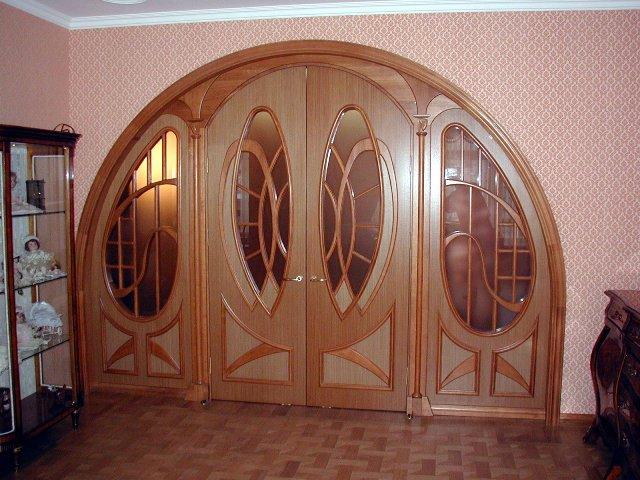 Нестандартные межкомнатные двери различных размеров: изготовление и производство
