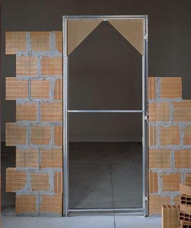 Внутренняя часть дверей без наличников
