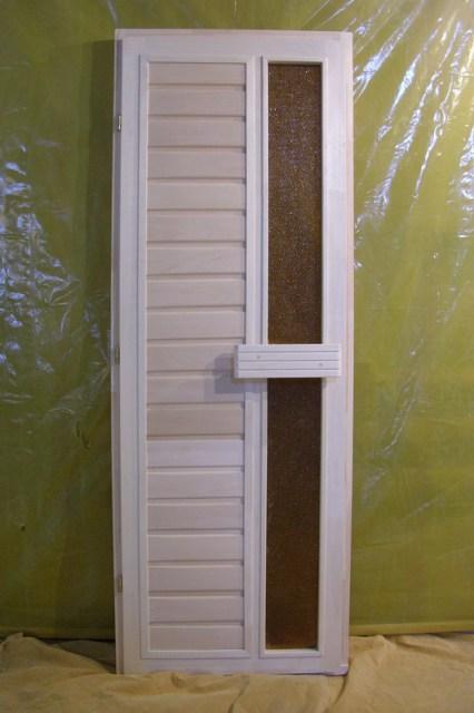 Комбинированная дверь для саун и бань