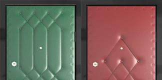 Двери с дермантиновой поверхностью