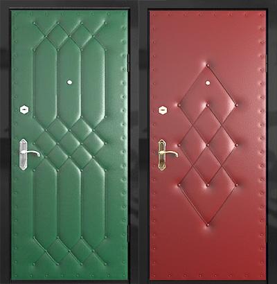 Обивка двери дермантином своими руками видео фото 311