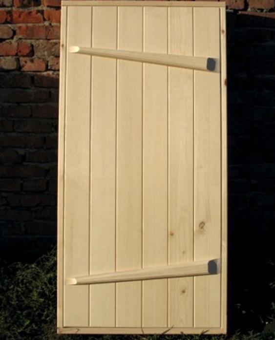 Двери со шпонками