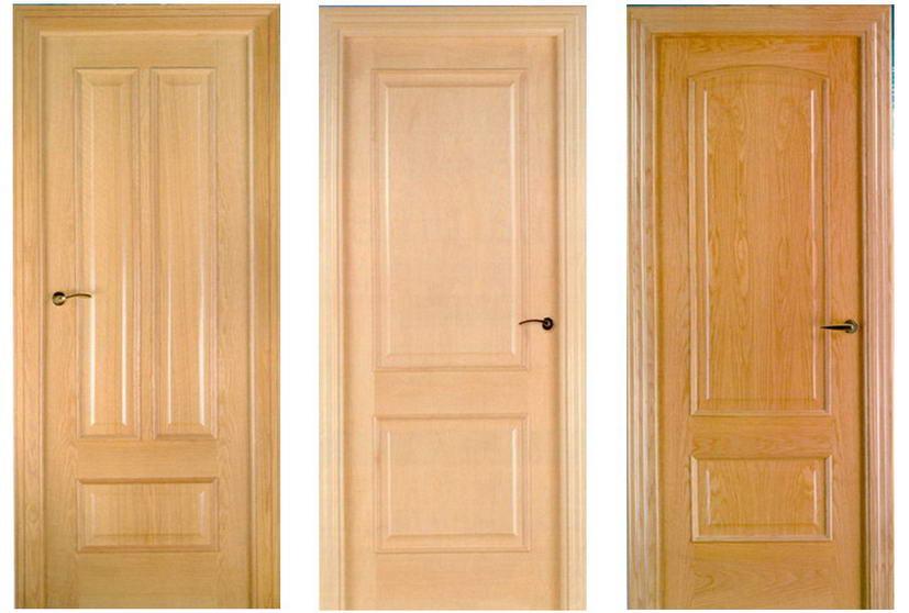 Элитные дорогие двери из натурального массива дуба от