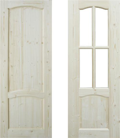 Межкомнатные двери из массива бука на заказ в СПб по