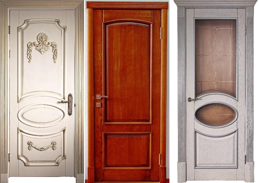 Межкомнатные двери из массива фабрики Ричеза