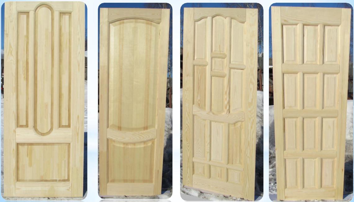 Двери из сосны