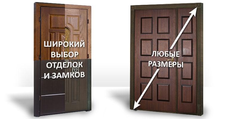 Стальные входные двери: металлические конструкции для устано.