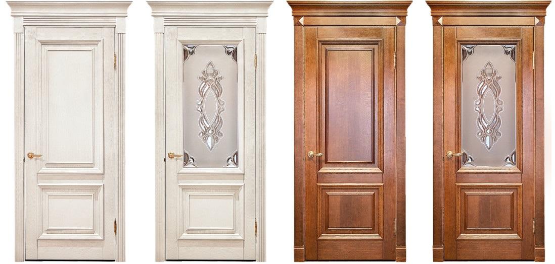 Филенчатые Двери Межкомнатные из Массива Сосны и