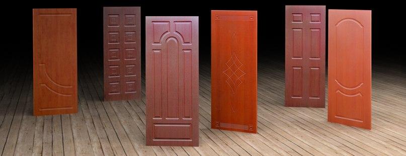 Ламинированные дверные накладки