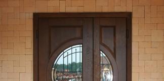 Дверь с двумя створками