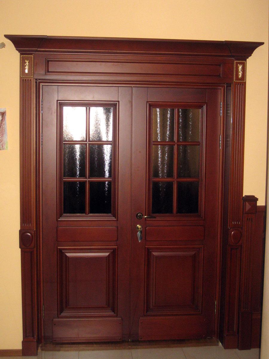Окна из дуба - купить окна из дерева в СПб