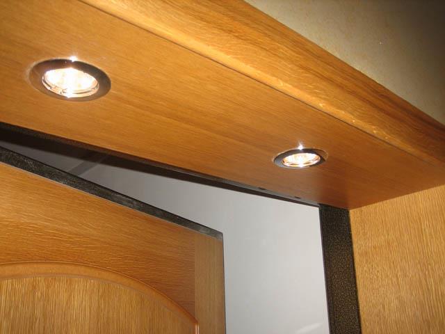 Откос двери с подсветкой