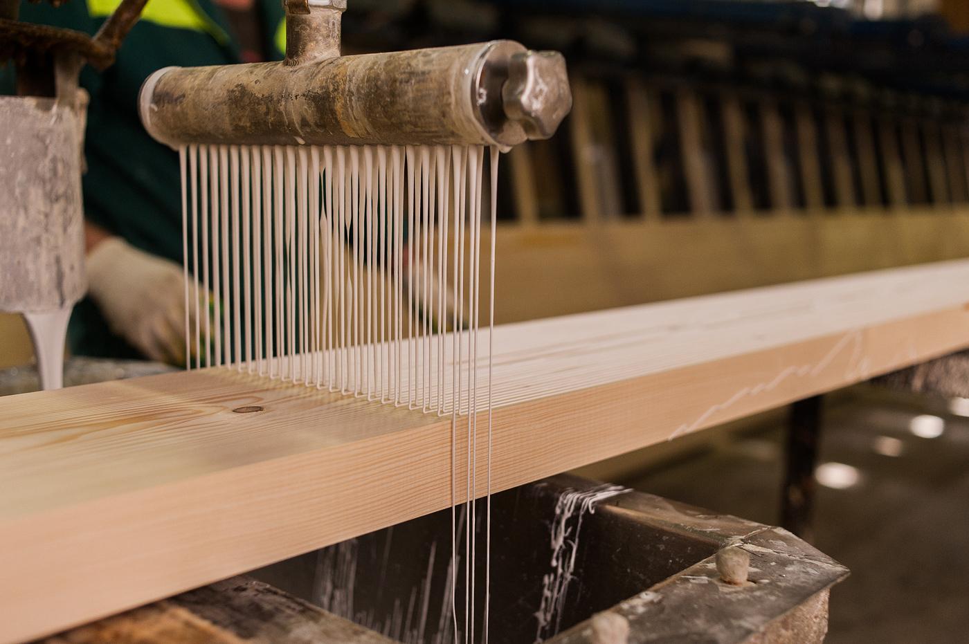 Клейка древесины