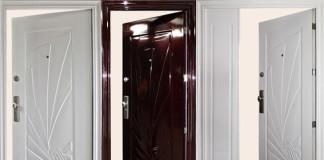 Двери с открыванием внутрь квартиры