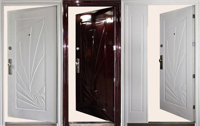 входные двери вовнутрь