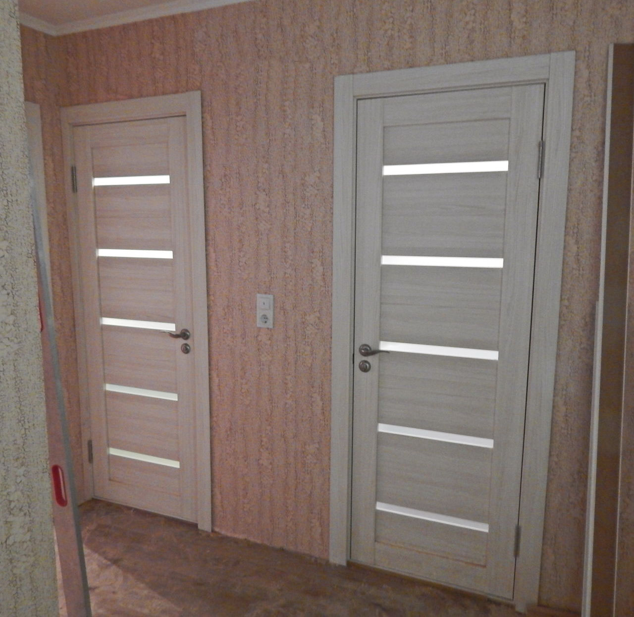 Двери в санузел из экошпона
