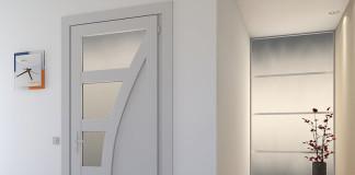 Дверь ПВХ в интерьере