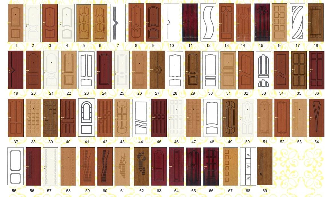Купить дверные панели для изготовления шкафов.