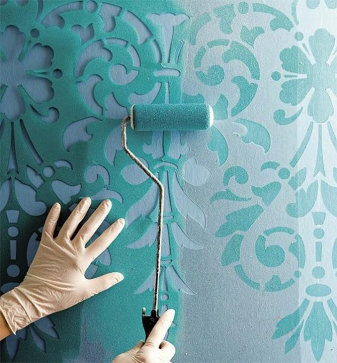 Трафареты своими руками для покраски фото