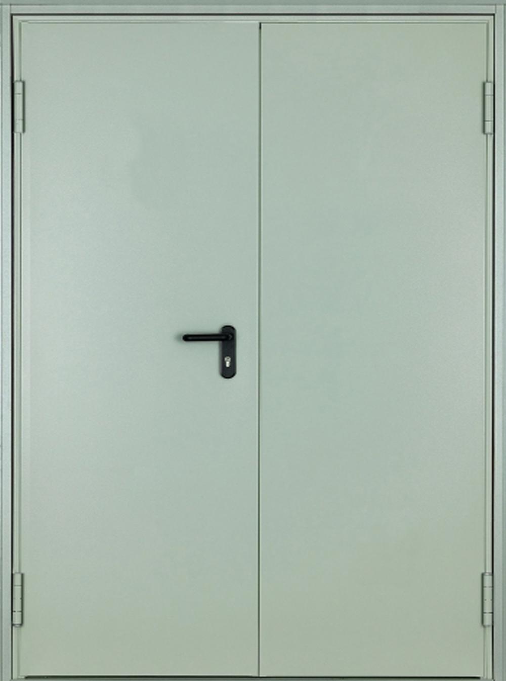Двупольная огнеустойчивая дверь