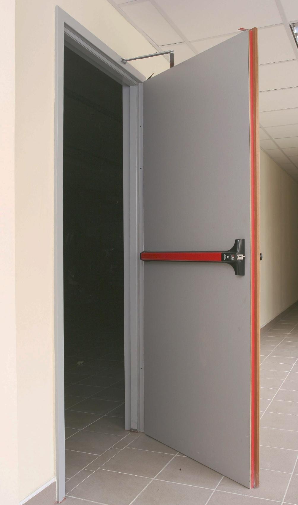 Внешний вид противопожарной двери