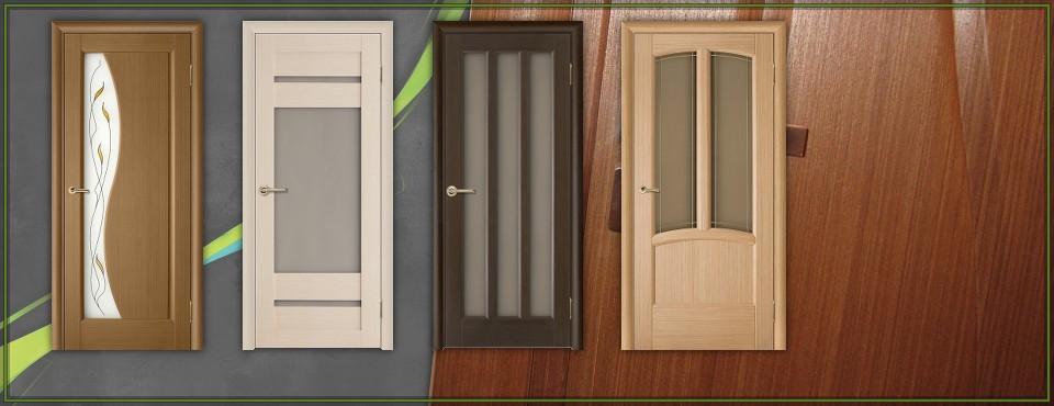 Дубовая межкомнатная дверь Аристократ 3 белая со стеклом