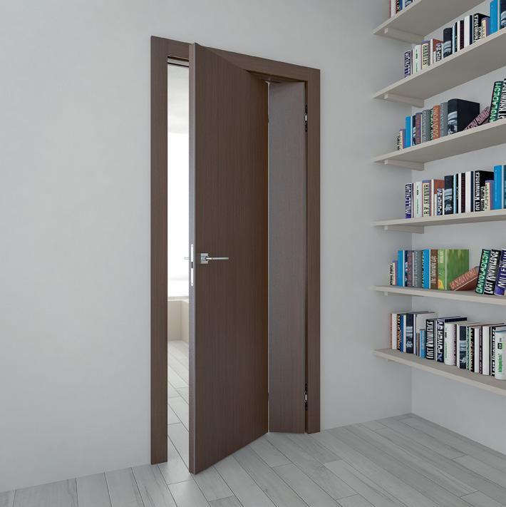 Складная дверь в интерьере