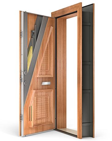 Спецзамер металлические двери