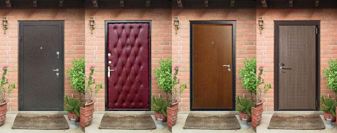 Металлическая дверь своими руками для частного дома