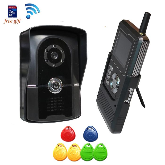 Звонок с видеокамерой для квартиры