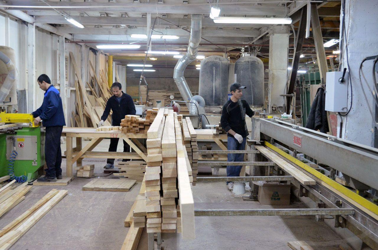 Деревообрабатывающая фабрика
