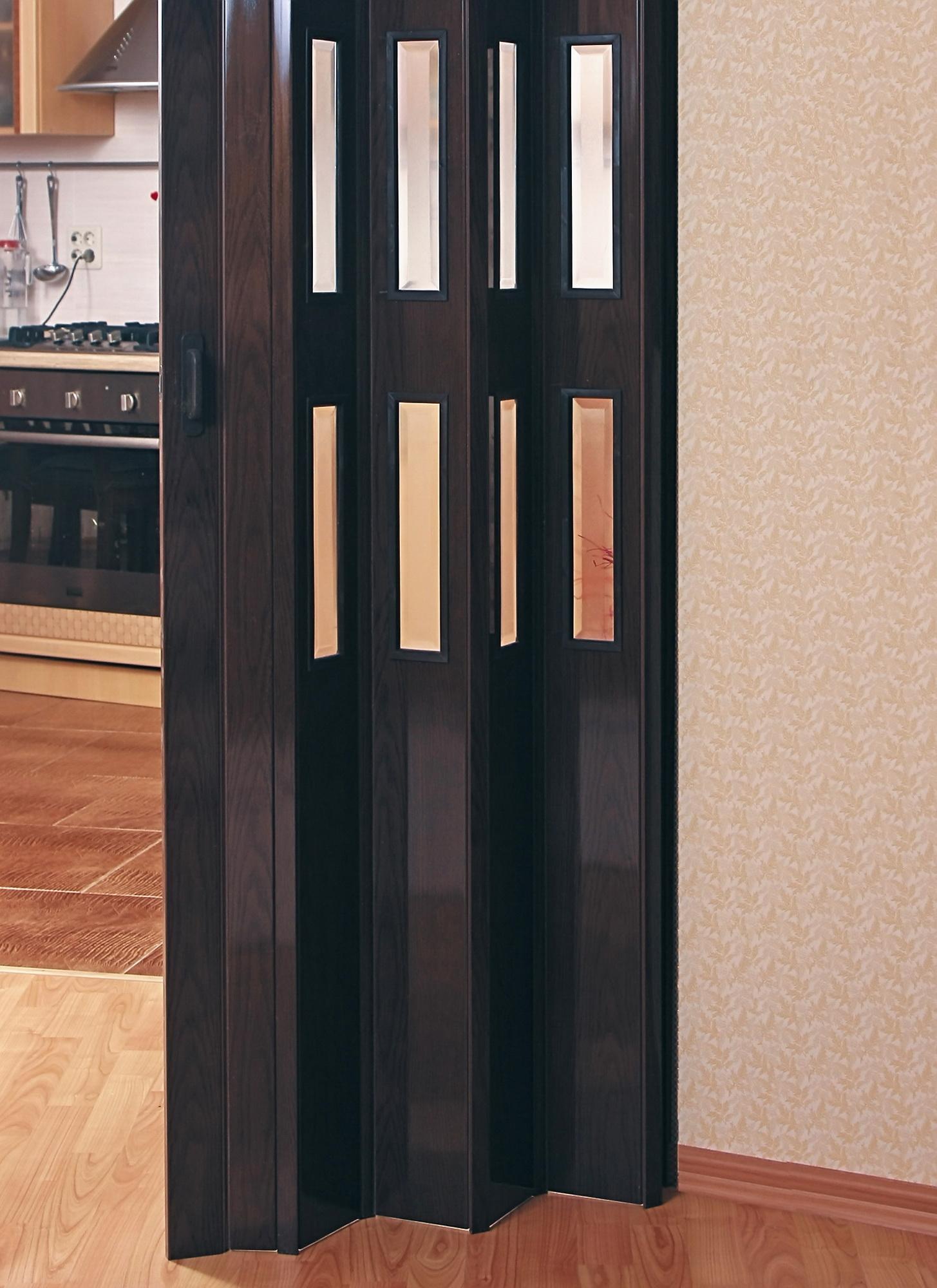 Дверь гармошка своими руками сделать фото 990