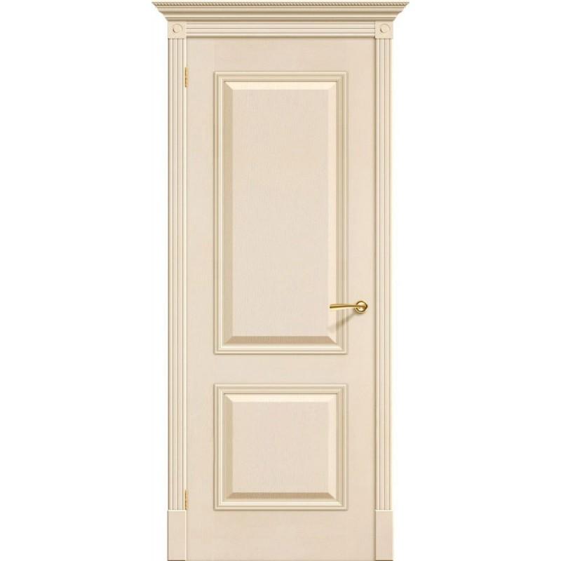 Белая филенчатая дверь