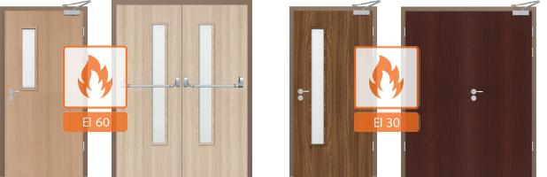 Двери Ei 60 и 30