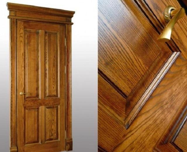 Двери из массива дуба - dvernoyby