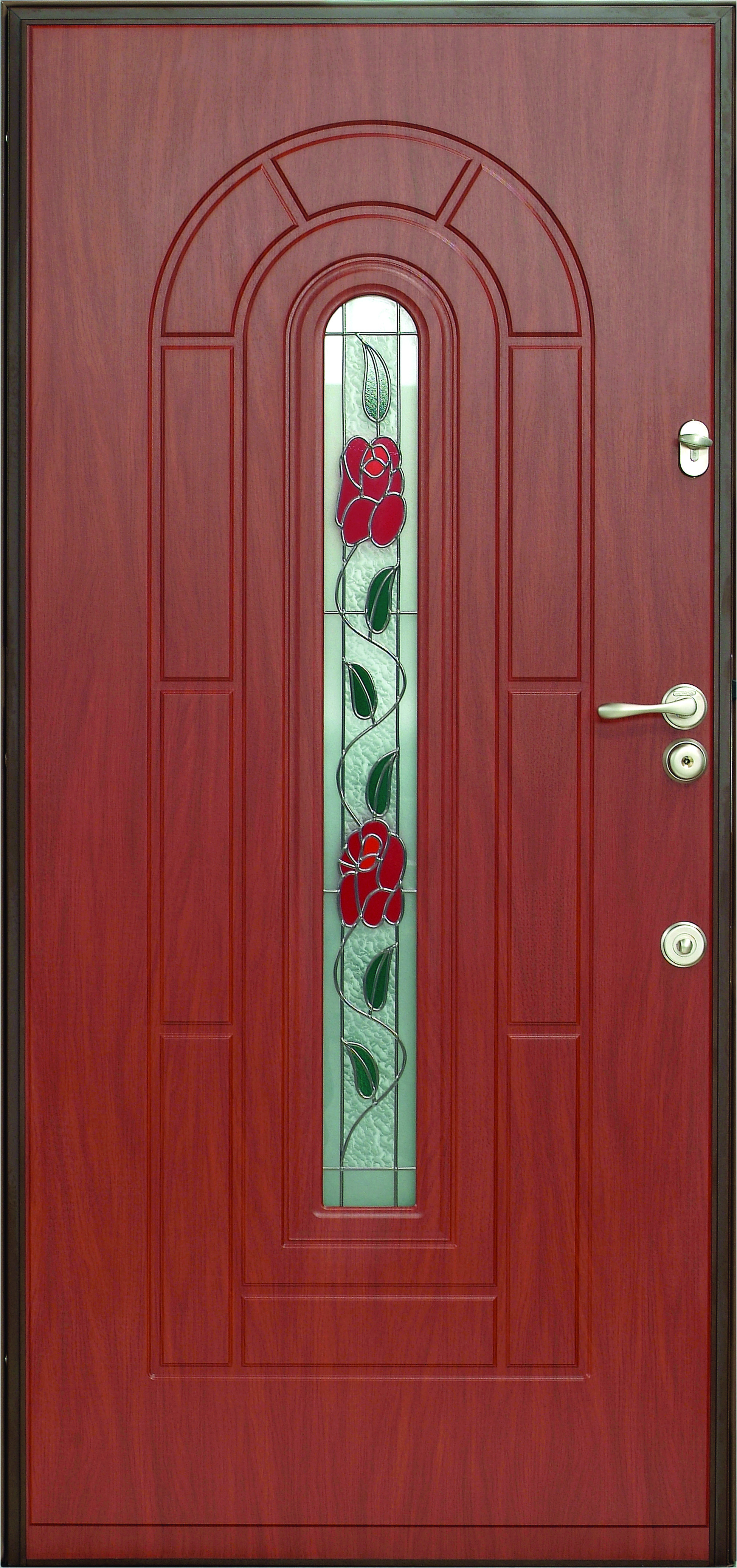 Двери Герда с витражом