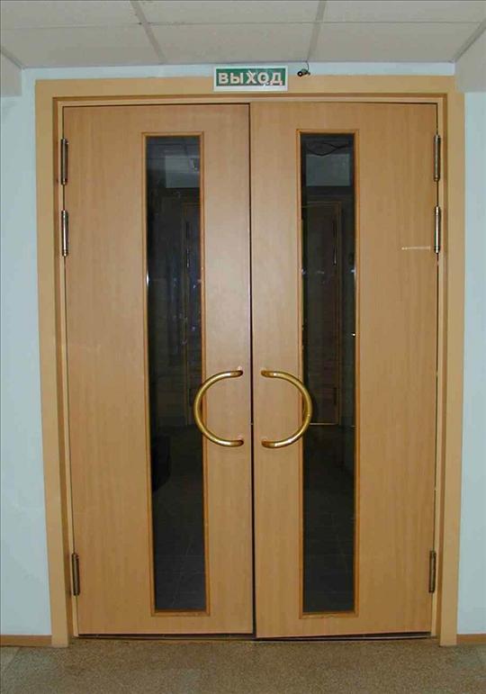 Маятниковые двери двухстороннего открывания: стеклянные, алюминиевые и противопожарные