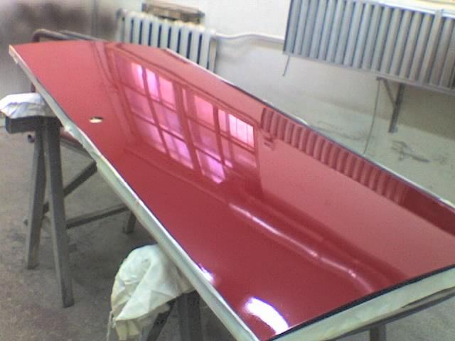 Покраска двери из металла
