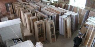 Цех производства деревянных дверей