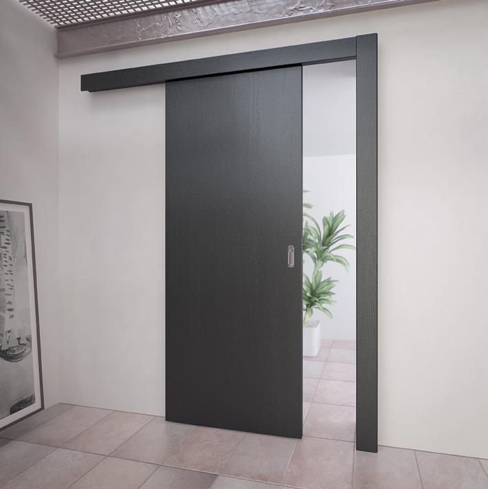 Сдвижная дверь с верхней направляющей