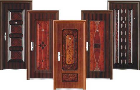 Варианты отделки дверей сейф