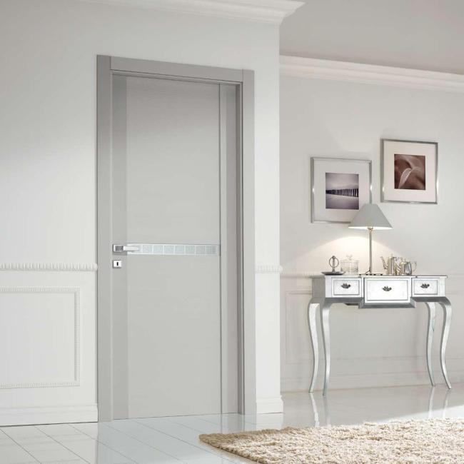 Двери межкомнатные серый цвет