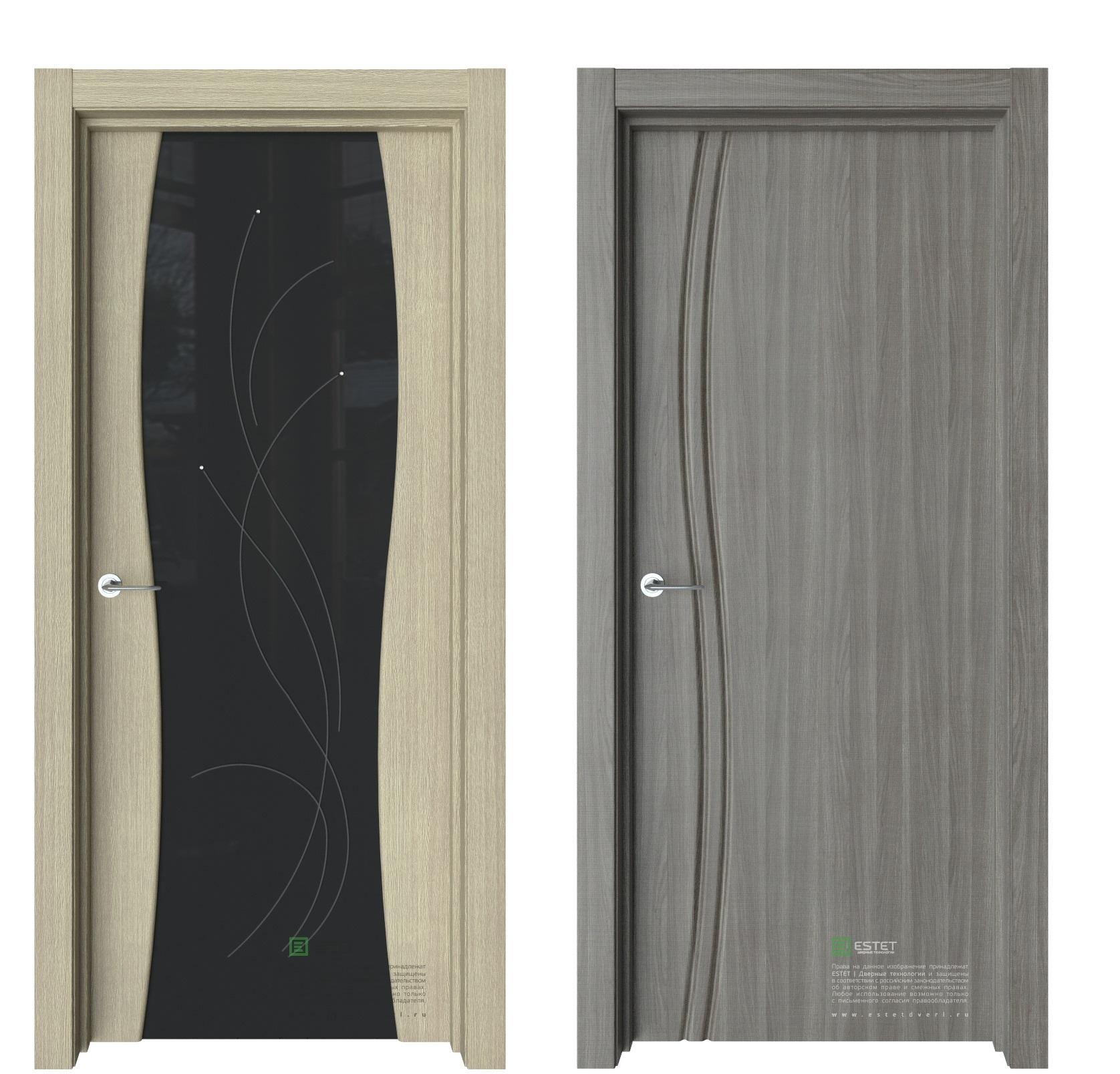 Межкомнатные двери эстет