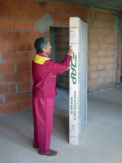 Дверь в упаковке