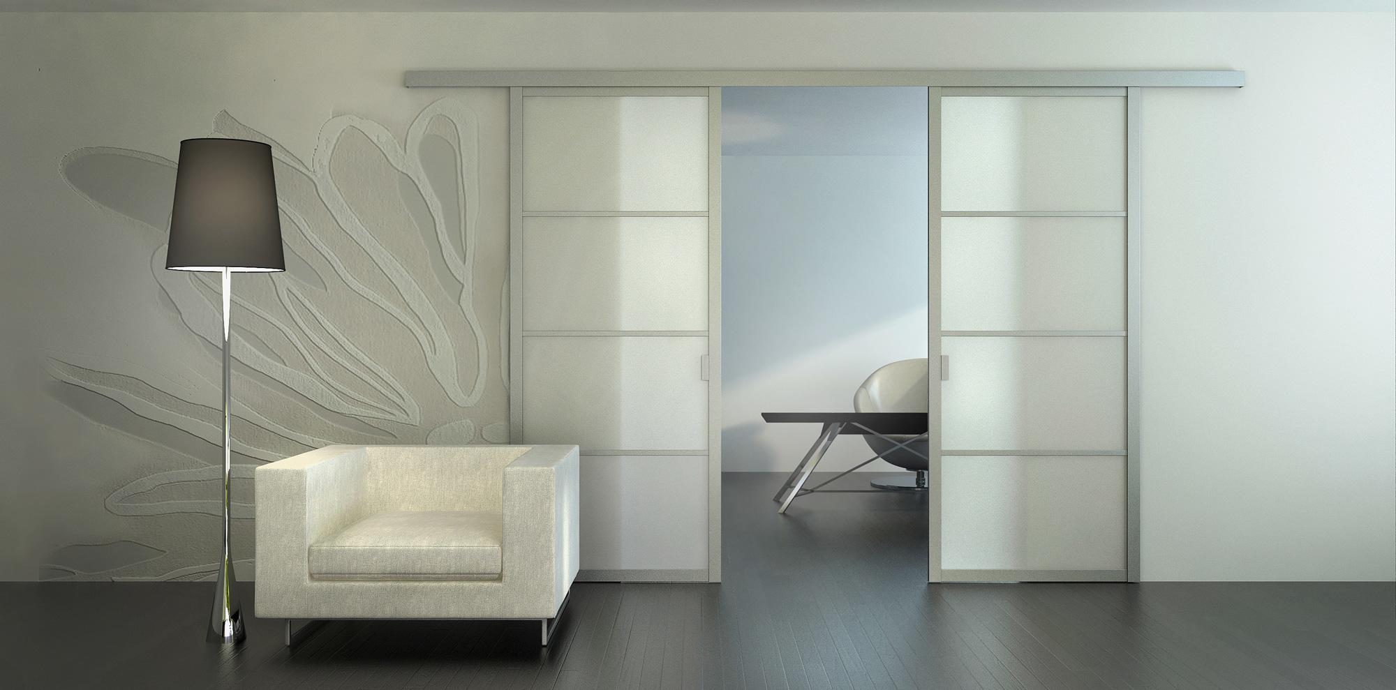 Сдвижные двери в интерьере