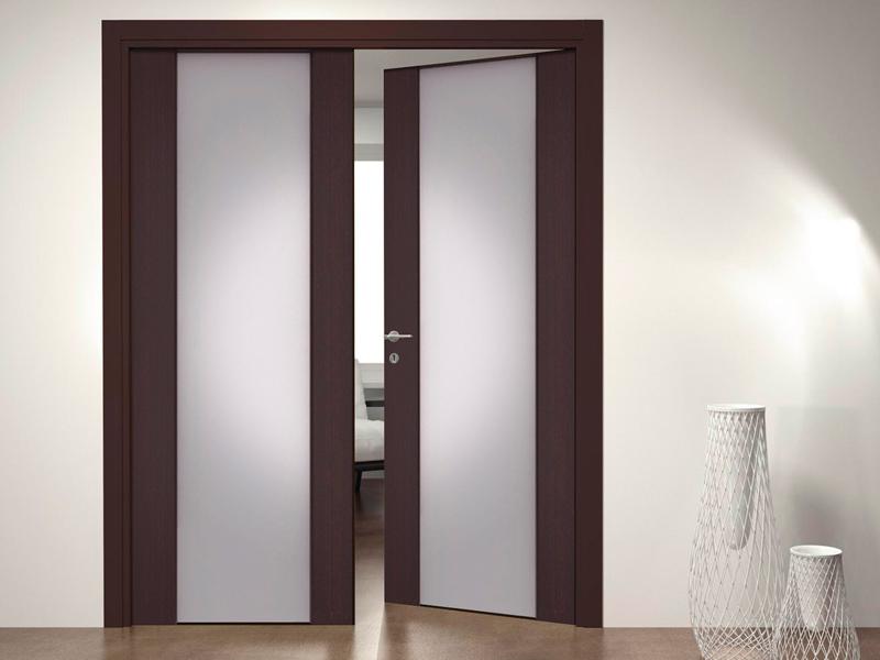 Размеры двухстворчатых дверей